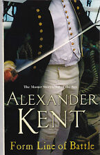 Form Line of Battle by Alexander Kent - NEW Paperback Book