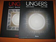 Ungers Opera completa 2 volumi con cofanetto Electa