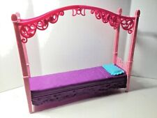 Barbie Doll Canopy Bed Bedroom Home Furniture