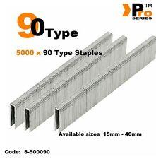 5000 x 90 Type Staples - Narrow crown     016
