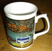 Bone china vintage Discovery Chanel mug from early 1990s