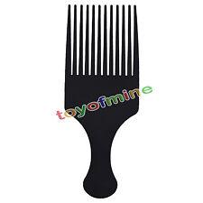 Black Plastic Afro Hair Lifting Pik Pick Annie Style Comb Pro Pocket