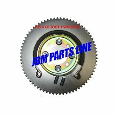 "Go Kart Hub 3/4"" Live Axle, #35 Sprocket 60 Tooth Sprocket 4"" Brake Drum & Band"