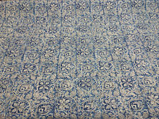 Home Accent Ta Boo Floral Blue Iris Fabric By The Yard