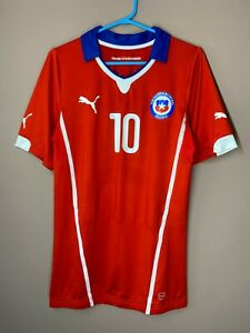 Chile 2014-2015 Edoardo Player Issue Home Football Soccer Shirt Jersey Stretch