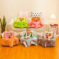 Child Sofa Cover Cute Wings Baby Learning To Sit Seat Chair Cover Pink