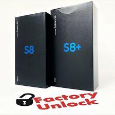 Samsung Galaxy S8 SM-G950U, S8+ PLUS SM-G955U 64GB (Factory Unlocked)