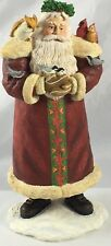 1998 Sherri Buck Baldwin Santa's Feathered Friends 1st Edition Christmas Santa