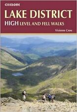 Lake District: High Fell Walks New Paperback Book Vivienne Crow