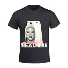 RuPaul Realness Drag Race Pride Gay Queen Slogan LGBT Cool T Shirt Size S-5XL