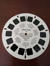 """Mickey Mouse The Brave Little Tailor"" View-master #B5281. 1958. Used condition."