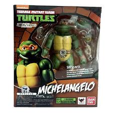 Bandai TMNT Michelangelo Ninja Turtles Model Action Figures SH Figuarts KO Toy