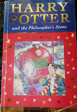 BOOK 1 STARS ED HARRY POTTER AND THE PHILOSOPHER'S STONE J.K ROWLING PAPERBACK