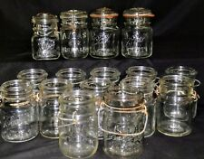 Vintage Wire Bale Canning Jars-Ball Ideal, Atlas