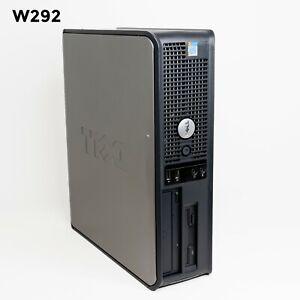 DELL OPTIPLEX GX520 SFF INTEL PENTIUM 4 2.80GHz/ 4 GB/ 250 GB WIN 7 PRO W292