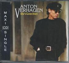 ANTON VERHAGEN - She's gone (Live) CD-MAXI 4TR (COLUMBIA) 1993 HOLLAND