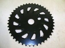 BLACK SINGLE SPEED BMX BICYCLE CHAIN RING PARTS 636