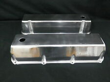 VALVE COVERS TALL ALUMINIUM CAST POLISHED FORD BIG BLOCK 429 - 460