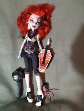 MONSTER HIGH. Muñeca SPECTRA VONDERGEIST 1 WAVE original y mascota PATAS LARGAS