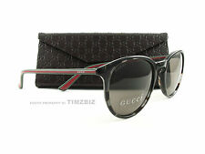 New Gucci Sunglasses GG 1102/S Havana Grey Green Red GYMCO Authentic