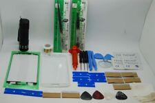Samsung S7 Bianco Kit di Riparazione Vetro Schermo Frontale, Filo, Colla, Torcia