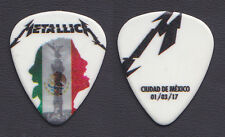 Metallica James Hetfield Mexico City 3/1/17 Guitar Pick - 2017 WorldWired Tour