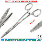 Mayo Hegar Dental Piercing Forceps Locking Surgical Needle Holder Clamps Pliers
