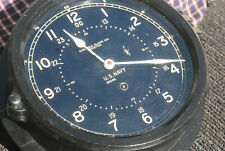 "Chelesa Wwii Ship Clock 10"" 1940- 44"