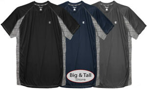 Big & Tall Men's Champion Color Block Performance T-Shirt 3XL – 6XL 2XLT – 4XLT