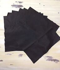 "FAUX LEATHER FABRIC - 14""'x14"" 7 Brown Squares, Sewing, Pillows, Craft Fabric"