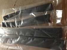 Holden VT VX VY VZ Commodore Calais SS Front & Rear Black Sill Plates NEW GM
