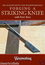 NEW! Forging A Striking Knife With Peter Ross [DVD]