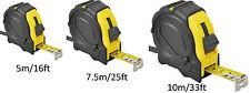 5M-10M/16ft-33ft Professional DIY Auto Lock Measurement Measure Measuring Tape