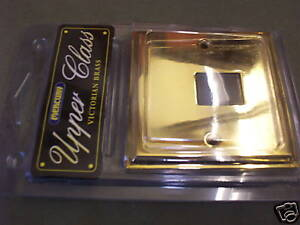 Wall Telephone Phone BT Socket Victorian Brass by Mercury OM0930