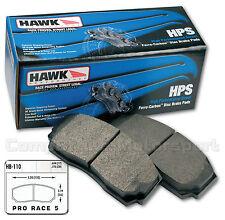 Wilwood Dynalite Fast Road Hawk    HPS Brake Pads/Compbrake Pro Race 5  CMB0963