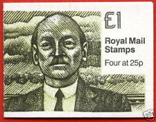 Fh35 Prime Ministers 4 £1 Folded Booklet
