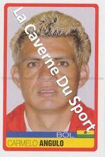 N°047 CARMELO ANGULO # BOLIVIA STICKER PANINI COPA AMERICA VENEZUELA 2007
