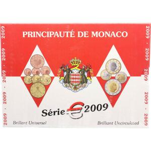 Monaco euro BU 2009 sous blister KMS
