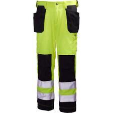 NWT Class 2 Helly Hansen Hi-Vis Pants Aberdeen Construction Cordura Fabric 44X34