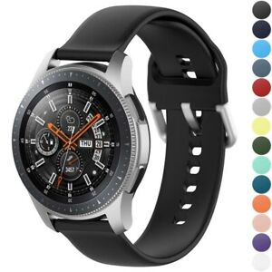 StrapsCo Buckle-and-Tuck Rubber Watch Strap for Samsung Galaxy Watch/Active/Gear