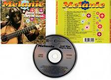 """MELANIE """"Look What They've Done"""" (CD) 1991"""