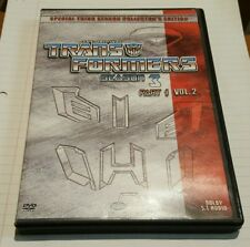 The Original Transformers Season 3 Part 1 Vol. 2 DVD Animated Collectors edition