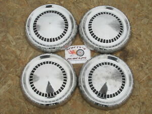 1960, 1961, 1962, 1963 MERCURY COMET ~POVERTY~ DOG DISH HUBCAPS, SET OF 4