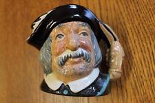 Vintage Royal Doulton Sancho Panca Medium Toby Character Jug England D6461