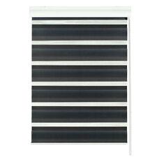 moderne noir rouleau Fenêtre Blind - Maison / bureau - Uni - JOUR / nuit -