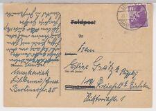 Berlin-Brandenburg, Mi. 2A, EF, Lübbenau im Spreewalde, 21.1.46