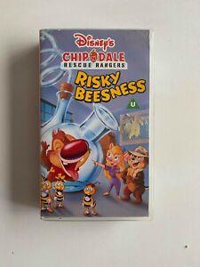Chip 'n' Dale: Risky Beesness - Rescue Rangers (1991) - Children's - PAL VHS