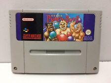 Super Punch Out Nintendo Super NES SNES Pal Loose