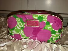Lilly Pulitzer For Estee Lauder Cosmetic Make Up Bag Travel Bag Case Floral NEW