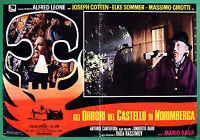 T52 Fotobusta Gli Horrors Del Castello By Nuremberg Mario Bava Cotten Rassimov 1